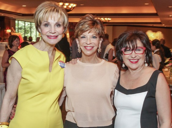 Leisa Holland Nelson, Vicki Rizzo and Roz Pactor