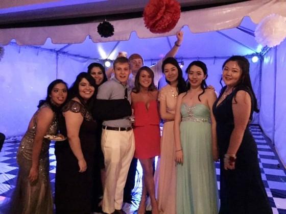 Alexander-Smith Academy prom
