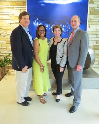 Geoff Bracken, Anita Smith, Tammie Kahn, Randy Allen