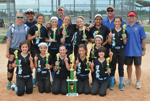 West University Softball Association's 12U Ice