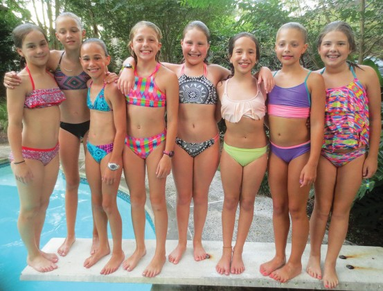 Riley Stitham, Claire Childress, Riley McCloskey, Cate Biar, Berkeley Keller, Amelia Nuzzo, Bailey Schellberg, Kate Stuyck