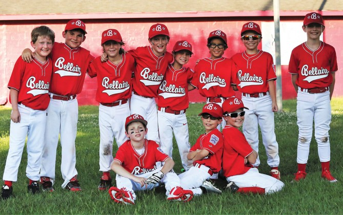Bellaire Little League's 9U District Team