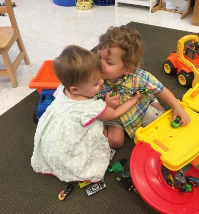 Lila kissing Cash