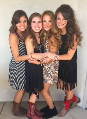Lily Yeager, Ellie Smith, Laura Ragsdale, Mackenzie Pierce