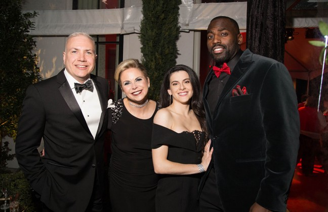 James Miller, Jackie Sheahan, Nicole Moreno, Whitney Mercilus
