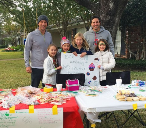 Daddy-run bake sale