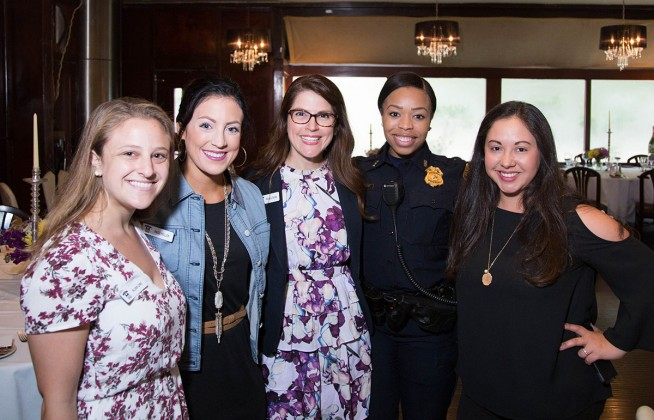 Allison Lewis, Paige Hollek, Michelle Sacks, Sergeant Rubin, Tania Cruz