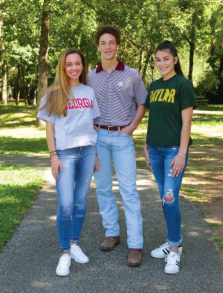 Sydney Wallace, Harris Cooley, Kate Balleza