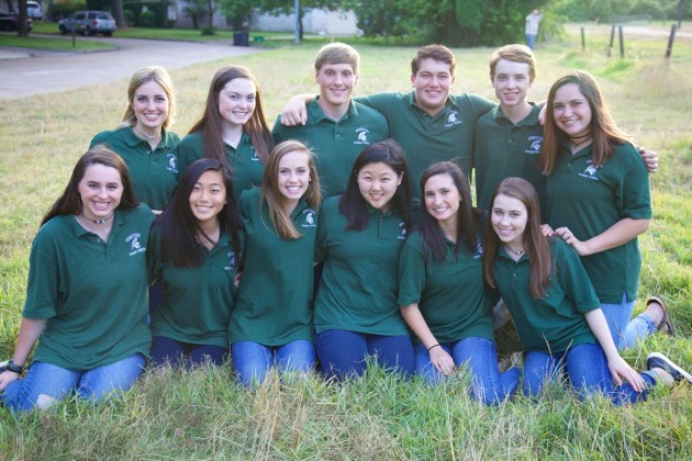 Stratford High School's 2017 Student Council officers