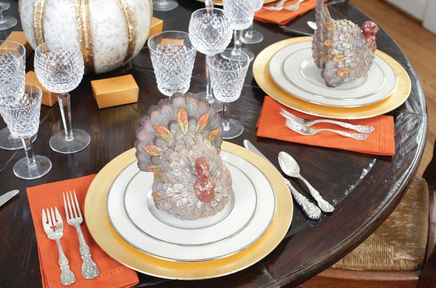 new turkeys and china and crystal