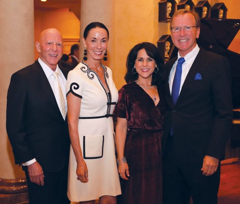 Lester Smith, Sue Smith, Maria Bush, Neil Bush