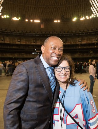 Mayor Sylvester Turner, Joni Hoffman