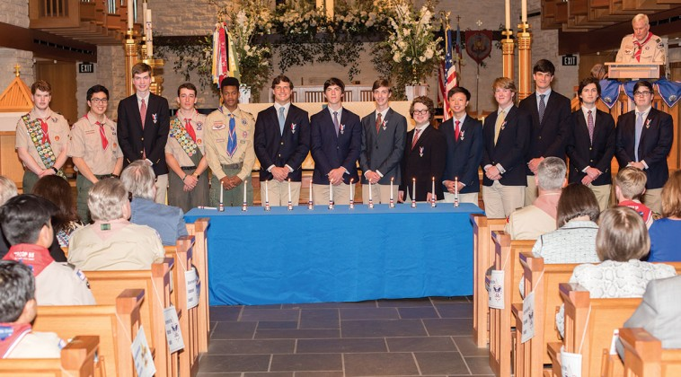 St. John the Divine's Boy Scout Troop 55