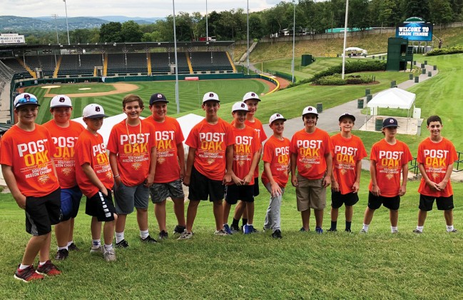 Post Oak Little League (POLL) 12U All-Star team