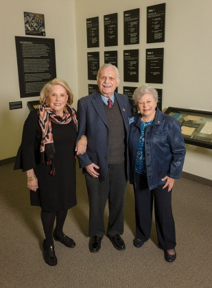 Ruth Steinfeld, Bill Orlin and Anna Steinberger
