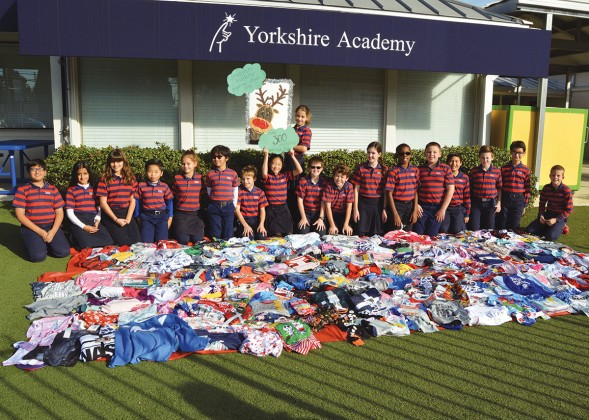 Yorkshire Academy's fifth graders