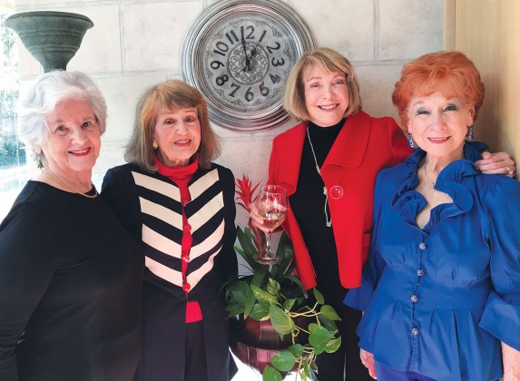 Mary Florence, Marie Barazandeh, Charlene Boyd and Terrie Straughan
