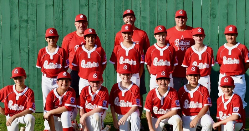 Bellaire Little League's 11U team