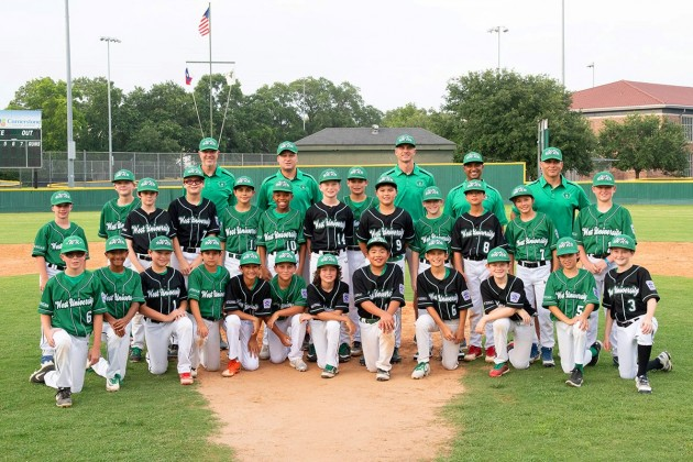 West U Little League's National and American teams