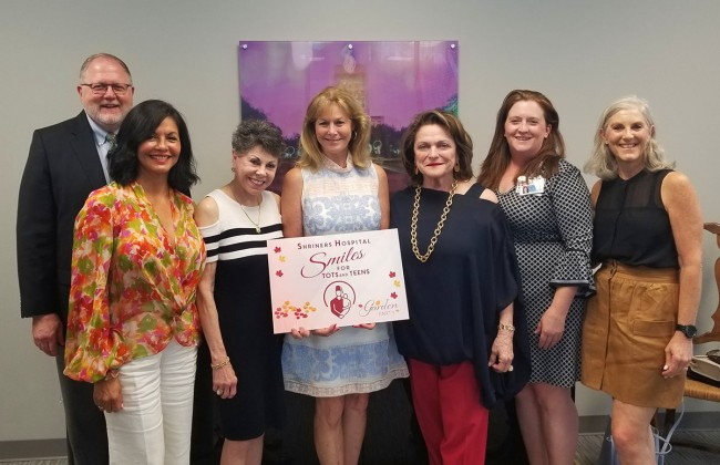 2019 committee for the Shriners Hospital Smiles for Tots and Teens