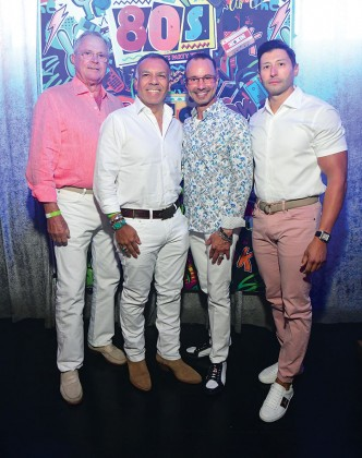 Richard Werner, Tony Bravo, Johanes LeBlanc and Jorge Cantu