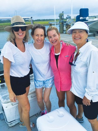 Pam Lewis, Margaret Kitchen, Christy Galtney and Cindy Soefer