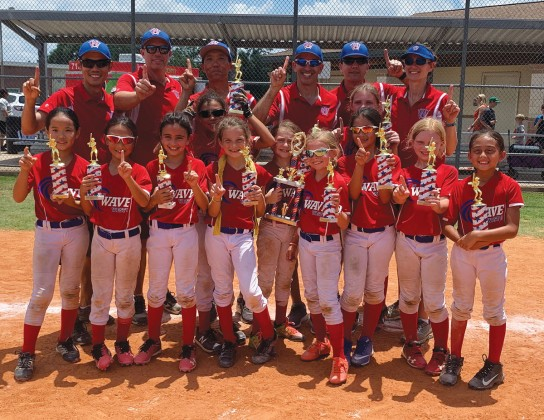 West University Softball Association (WUSA) 8U Wave