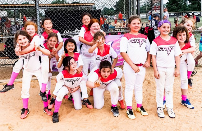 2019 WUSA Storm 8U summer tournament team