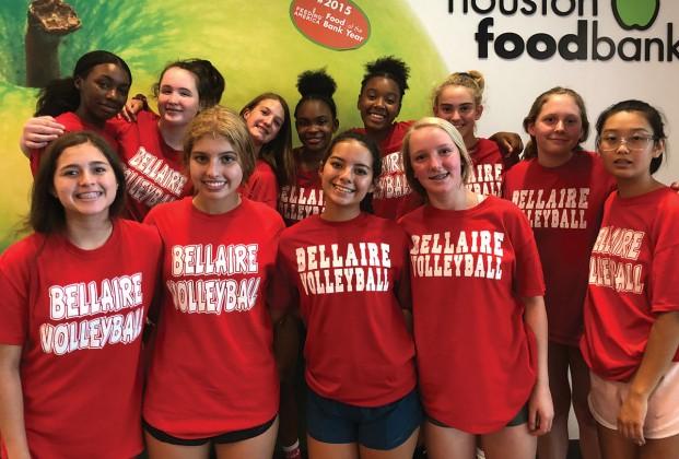 Bellaire High School freshman volleyball