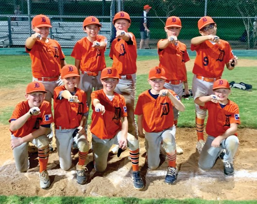 The 11U Drillers baseball team