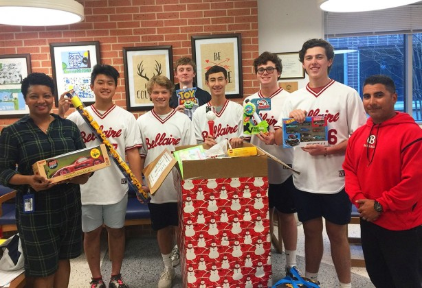 Bellaire baseball toy drive
