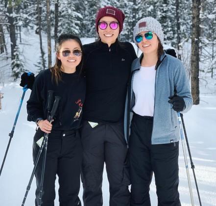 Maddy Payne, Jessica Masrin and Ayla Masrin
