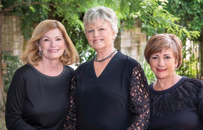 Allison Jensen, Carol Lawler, Betty Beathard