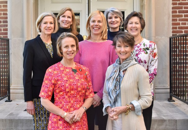 Meg Tapp, Sheila Mayfield, Margaret Pierce, Julie Griffin, Ruth Kelly, Greta Zimmerman, Gwen Smith
