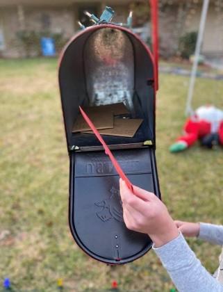 Santa Express mailbox