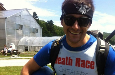 Justin Avioli has participated in The Death Race in the past and is hopeful that this year, he will be successful.