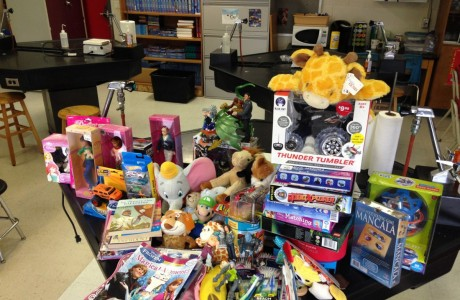 Bellaire Beating Hearts club recently concluded their first annual Texas Children's Hospital Donation Drive.