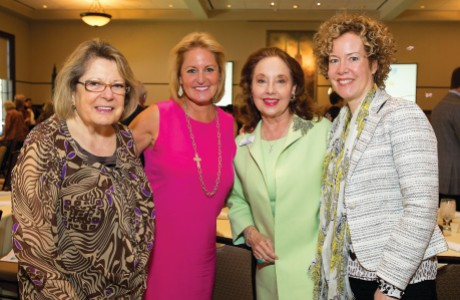 Kathy Butler, Laura Levenson, Melinda Berkman and Becky Hunter