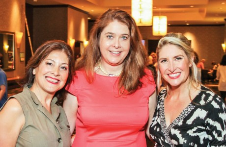 Gloria Nino Monacelli, Melissa Hobbs and Stephanie Morris