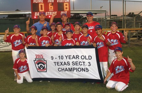 The Post Oak Little League (POLL) 10-year-old All Stars