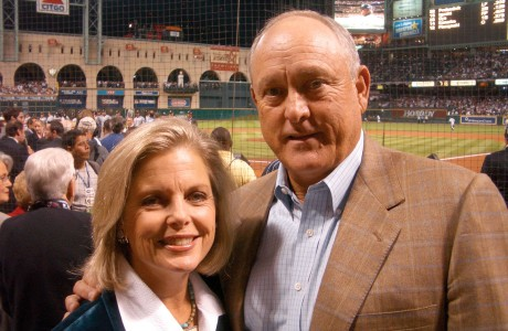 Ruth and Nolan Ryan
