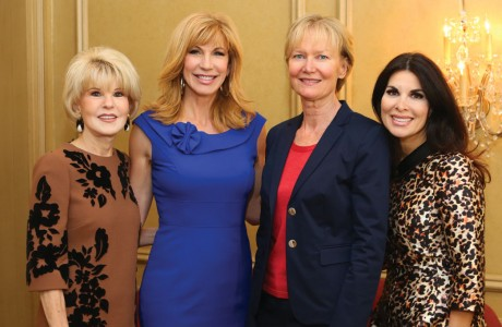 Virginia Steppe, Leeza Gibbons, Terry Huffington, Alissa Maples