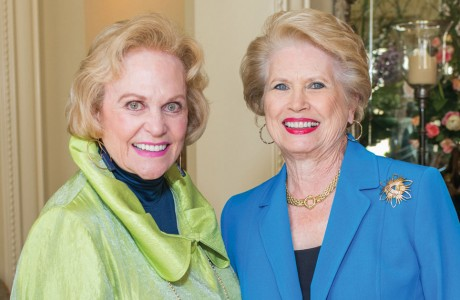 Nancy Ames and Ginger Blanton