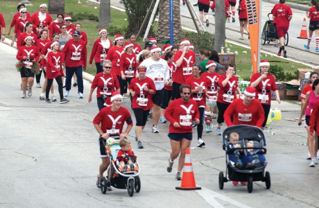 Galveston's Santa Hustle