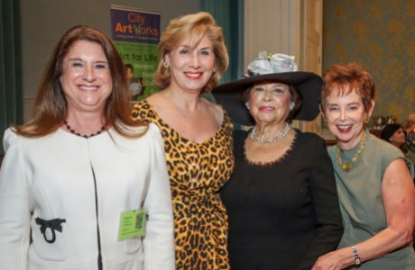 Deborah Colton, Denise Bush Bahr, Olga Bush and Evelyn Leightman