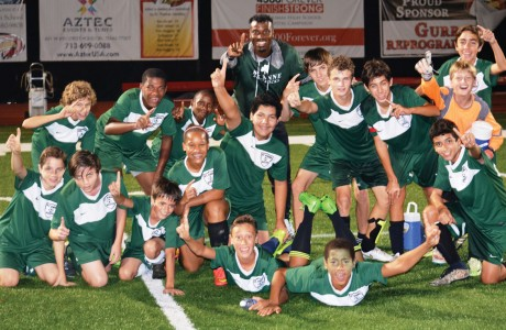 St. Anne Catholic School varsity soccer team