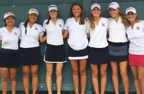 Memorial Mustangs girls golf team