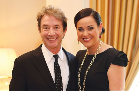 Martin Short, Jamie Broach Byrd