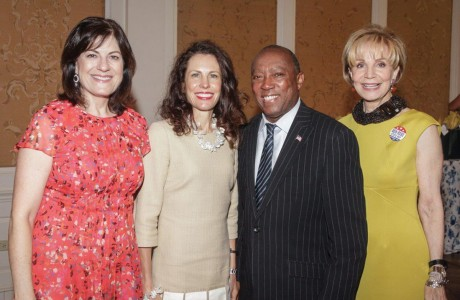 Ellie Francisco, Gina Luna, Sylvester Turner, Leisa Holland Nelson