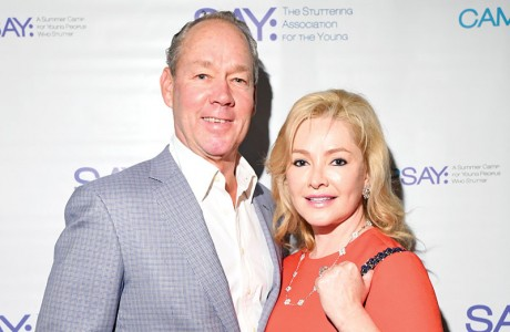 Jim Crane and Whitney Wheeler